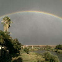 rainbow-over-river